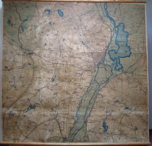 Stara mapa Szczecin